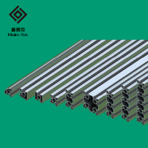 30 series bright surface industrial aluminum profiles