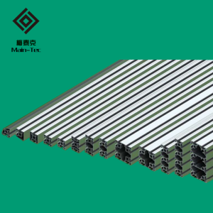 40 series bright surface industrial aluminum profiles